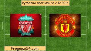 Футболни прогнози за 2.12.2014